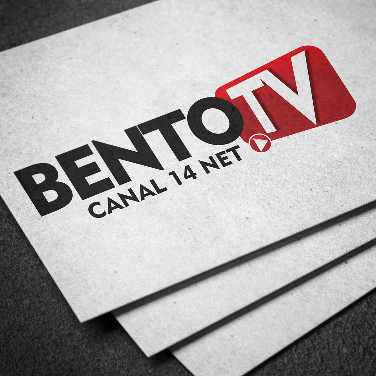 Identidade Visual Bento TV