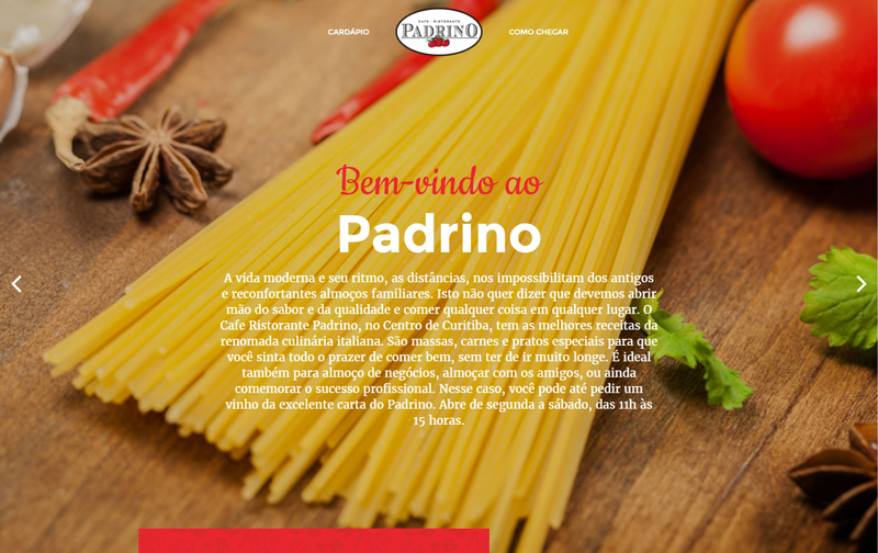 Website Padrino